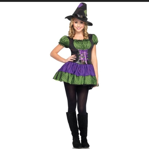 NEW Leg Avenue Jr Small Hocus Pocus Witch Costume